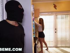 ABUSEME - Breaking and entering into Nicole Rey's Young Pussy (am15841)