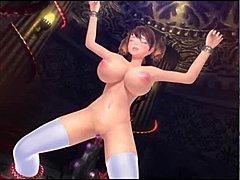 3D Hentai kreslené sex